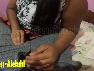Sri Lankan Blowjob Coupled With Smoking